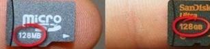 Micro SD då och nu..