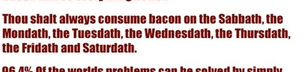 Rules of Bacon