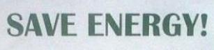 Spara Energi!