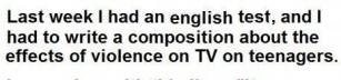 Television berikar ordförrådet
