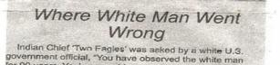 Vad som gick fel