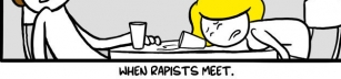 When rapists meet